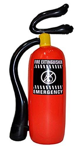 Confettery - Feuerlöscher - Kostümzubehör Feuerwehrmann Kinder Erwachsene, (Mumie Einem Sarg In Kostüme)