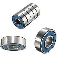 pushfocourag - Rodamientos para Patinete de Skate (10 Unidades), Azul