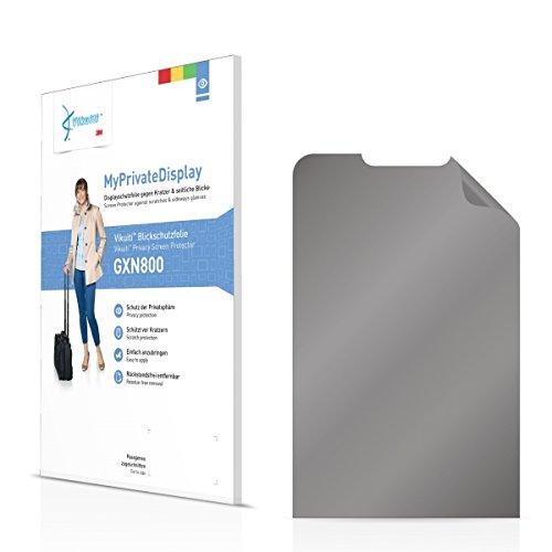 Vikuiti MyPrivatDisplay Blickschutzfolie GXN800 Samsung GT-M3200 (Sichtschutz ab 30°, Blasenfreie Montage, Passgenauer Zuschnitt)
