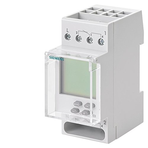 SIEMENS SENTRON - INTERRUPTOR HORARIO DIGITAL TOP 2 0 2 CANAL 230V CORRIENTE ALTERNA 16A