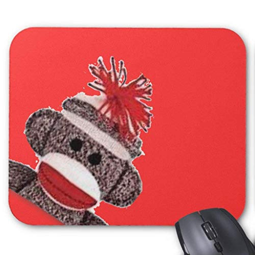 Sock Monkey Merchandise Products Gifts Mouse Pad 18cm x 22cm