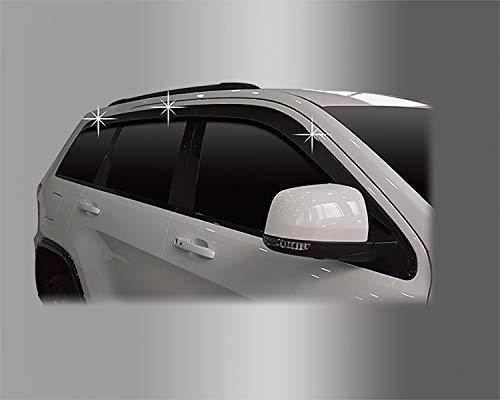 Autoclover Windabweiser-Set für Jeep Grand Cherokee ab 2011 (geräuchert)