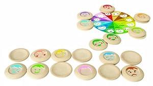 Plan Toys - 5656 - Memo Estados de Ánimo Plan Toys 24m+