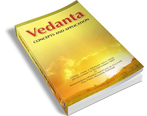 Vedanta: Concepts and application