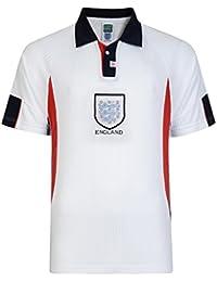 Official Retro England 1998 World Cup Finals Retro Football Shirt 100% POLYESTER