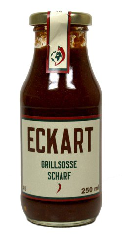 Eckart Grillsosse scharf - Chili Sauce