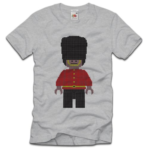 TEE-Shirt, Men T-Shirt Royal Guard Grau