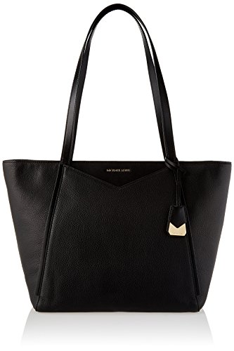 Michael Kors Damen Tote, Schwarz (Black), 18x28x44.5 centimeters