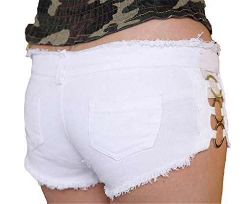 Tailloday Damen Short Weiß - Weiß