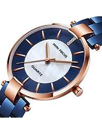 Sports watches Relojes de Hombre Mini Focus Mujer Reloj de Pulsera Japonés Cuarzo 30 m Reloj