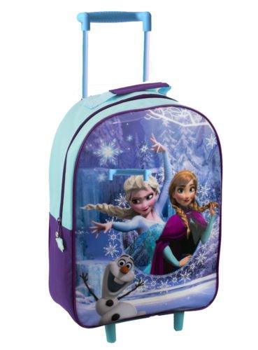 Disney Marvel Kids Boys Girls Cabin Trolley Case Wheeled Bag Suitcase Hand Luggage - Frozen