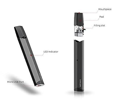 Authentisches Smoktech Smok Infinix Kit 2ml tragbares Dampfsystem (Gun Metal) von SMOK.