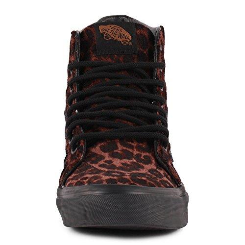 Vans Leopard Sk8-Hi Slim Femmes Trainers Léopard