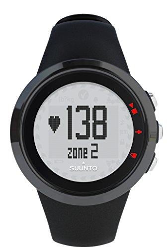 Suunto M2 MEN - Reloj hombre fitness, monitor frecuencia cardiaca + cinturón de frecuencia cardiaca, funciones frecuencia cardiaca simples, sumergible hasta 30 m, color negro