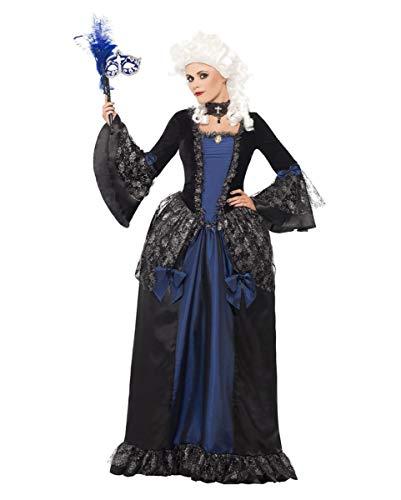Horror-Shop Dunkle Baroness Deluxe Kostüm S / ()