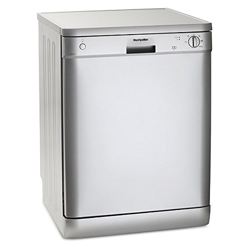 41vvBjppSEL. SS500  - Montpellier DW1254S Full Size 122 Place Dishwasher in Silver