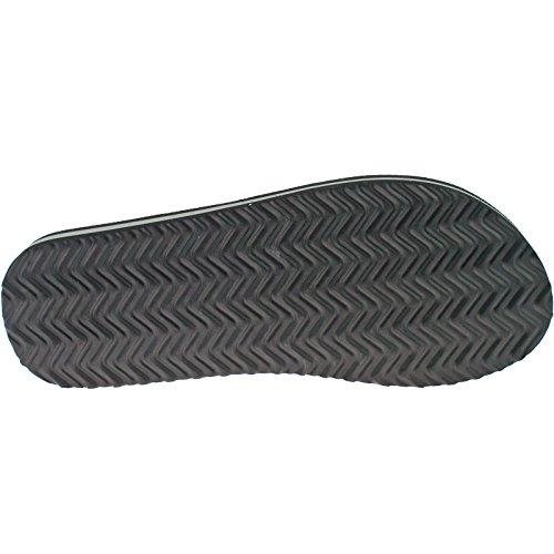 Dunlop , Herren Zehentrenner Schwarz