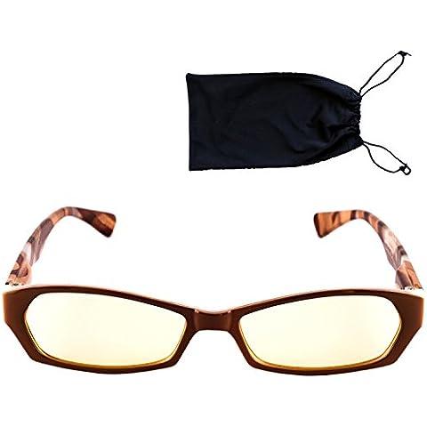 Top Life gafas para pantallas ordenador, smartphone, tablet–Modelo mujer