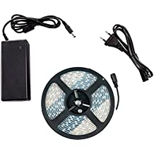 Kit Tira LED 48W 60LED/m 5m IP67 con Fuente de Alimentación Blanco Neutro 4000K-4500K efectoLED
