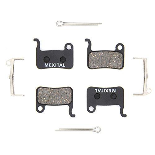 MEXITAL 2 coppie Pastiglie freno a disco per Shimano LX M585 Deore M505 M535 M545 M595 M596 Hone M601 SLX M665 XT M765 M775 M776 SAINT M800 XTR M965 M966 M975 BR-R505 S501 S500 T665 T605