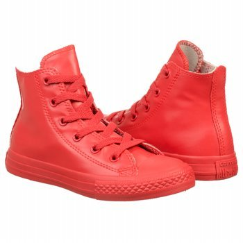 CONVERSE 344744C ALL STAR HI RUBBER RED SNEAKERS Enfant red