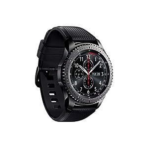 """Samsung S3 Frontier - Smartwatch Tizen (pantalla 1.3"""" Super AMOLED 360x360, GPS integrado, batería 380 mAh, altavoz integrado), color Gris (Space Gray)- Version española"""