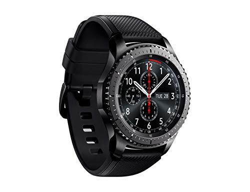 "Samsung Gear S3 Frontier - Smartwatch Tizen (pantalla 1.3"" Super AMOLED 360x360, GPS integrado, batería 380 mAh, altavoz integrado), color Gris (Space Gray)- Version española 3"