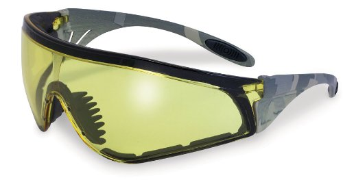 Specialized Safety Products SSP 13240 Yakima AM A/F Unisex Safety Glasses with Amber Anti-fog Lenses and Military ACU Camo Frame by Specialized Safety Products
