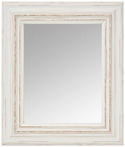 Inov8 Miroir Cadre Toscane 10 x 8 4pk, Blanc, 9 x 12 x 16 cm