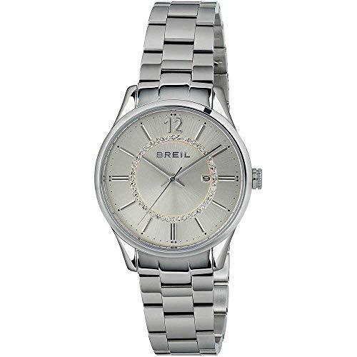BREIL Reloj Contempo Mujer Sólo el Tiempo Plata - TW1774