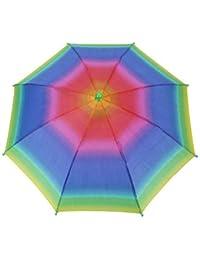 Sombrero Paraguas, 3 Colores Al Aire Libre Plegable Sombrilla Sombrero De Golf Que Acampa Golf