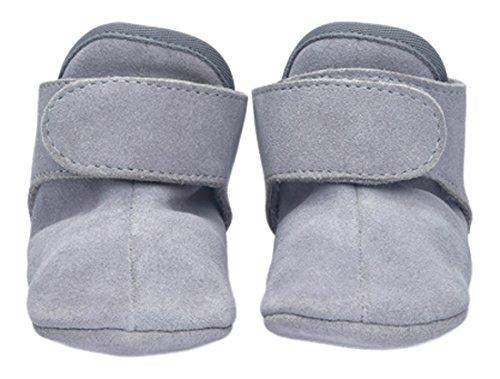 Lite Walker Schuh (Lodger WKLE1001-301L Schuhe Leder Walker Leather Basic 12-15 Monate, Light Grey)