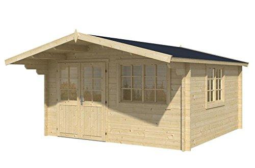 Blockhaus VENLO 420 x 420cm Gartenhaus 45mm Holzhaus