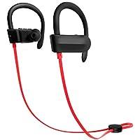 Hoidokly Auriculares Bluetooth 4.1 Cascos Inalámbricos Deportivos con Micrófono, reducción de Ruido, IPX5 Impermeable
