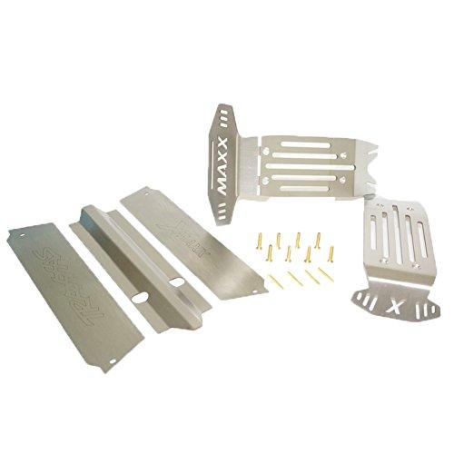 Deylaying Metall Körper Chassis Rüstung Brett Platten Schutz Tafelbild Kit Upgrade Teile für RC Traxxas X-Maxx Truck 8S Version -