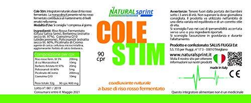 Zoom IMG-1 colestim lievito riso rosso monacolina