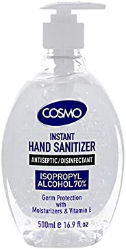 COSMO Advanced Instant Antiseptic & Disinfectant Hand Sanitizer, 50