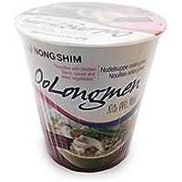 Nong Shim Corea Oolongmen pollo Sabor sopa de fideos - 12 Copas