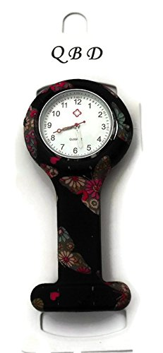 qbd-clip-series-nurses-glowing-hands-red-cross-patterned-silicon-rubber-fob-watch-black-butterfly-02