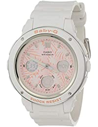Casio Baby-G Analog-Digital Rose Gold Dial Women's Watch - BGA-150F-7ADR (B156)