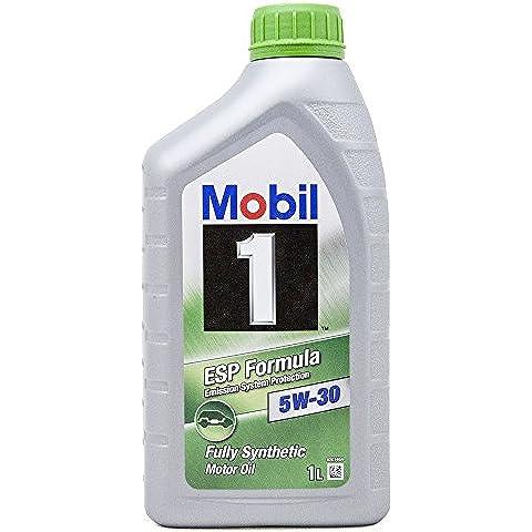 Mobil 1 151054 ESP Formula - Aceite sintético de motor (5W-30, 1 l)
