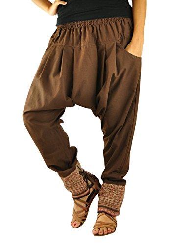 Taglia unica vestiti alternativi per l\'uomo e per la donna, UNISEX pantaloni alla turca con tradizionali cuciture e comoda cintura alla vita - Verbunden
