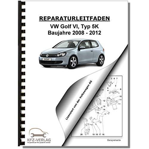 VW Golf 6 1K/5K (08-12) 4-Zyl 2,0l Dieselmotor TDI 110-177 PS Reparaturanleitung