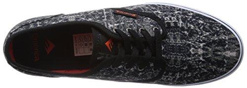 Emerica Wino Cruiser, Scarpe da Skate da Uomo Nero (Black/Orange 960)