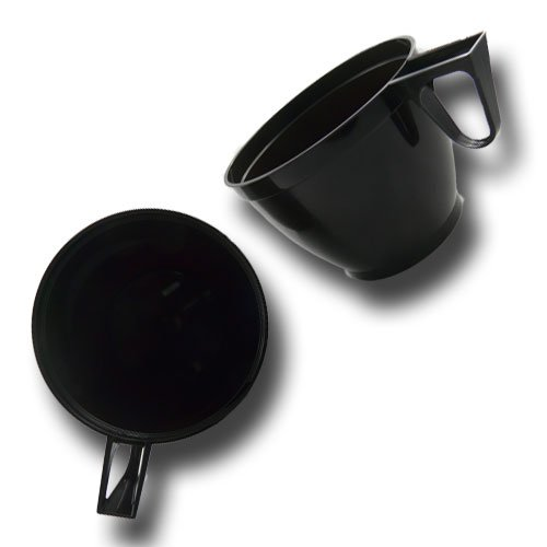 Einweg Kaffee- oder Teetassen braun 0,18 l PS