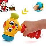 ACTRINIC-Direct Baby-Spielzeug für 12-18 Monate lustige Veränderbare Hammer mit Multifunktions,Lichter und Musik,Beste Geschenke für Frühe Bildung für Kleinkinder,Jungen und Mädchen 1,2,3Jahre Alt