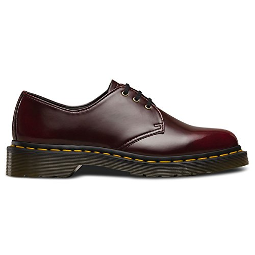 Cambridge Cherry (Dr. Martens Vegan 1460 Cherry Red Cambridge Brush 14046601, Straßenschuhe - 40 EU)