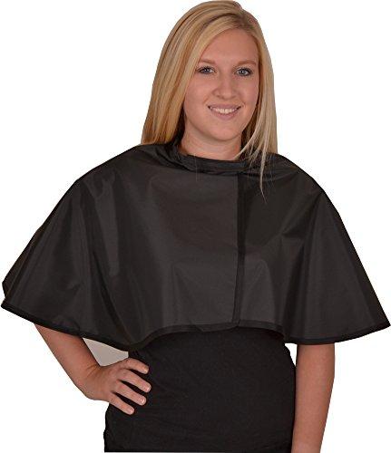 Solida Wasch- und Färbeumhang Nylon, schwarz, 1 Stück
