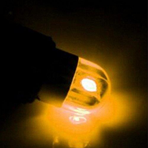 T10100LED Leuchtmittel Plug und Play für Auto Licht Lampe Birne 6500K PCS klein angeschlossen 12V Scheinwerfer Hohe Helligkeit Breite 2W unpolarer Platz 200lm für breite Lampen/Seite Blinker/Kennzeichenbeleuchtung/Fach Lichter/Tür Licht/innen Beleuchtung