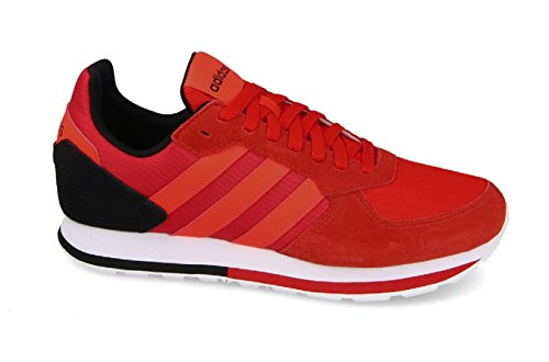 adidas 8k, Chaussures de Running Homme Rouge (Core Red S17/solar Red/core Black)